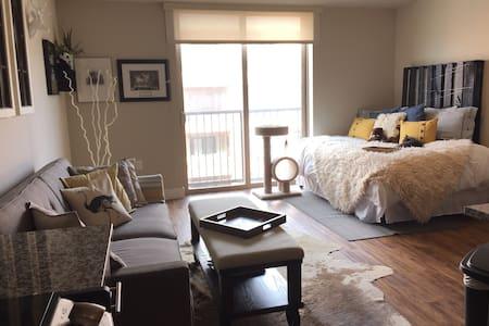 Modern-Rustic Studio in the Heart of LoDo Denver. - Denver - Appartamento