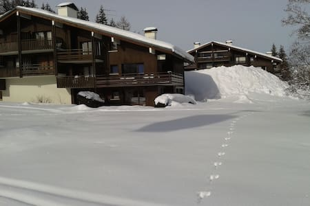 Le Bettex St Gervais - on the piste - Saint-Gervais-les-Bains - Apartment