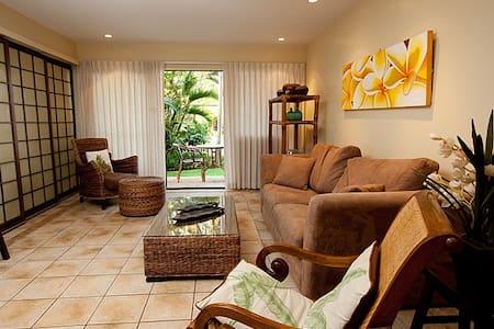 Romantic Beachfront Getaway - Wailuku - Apartment
