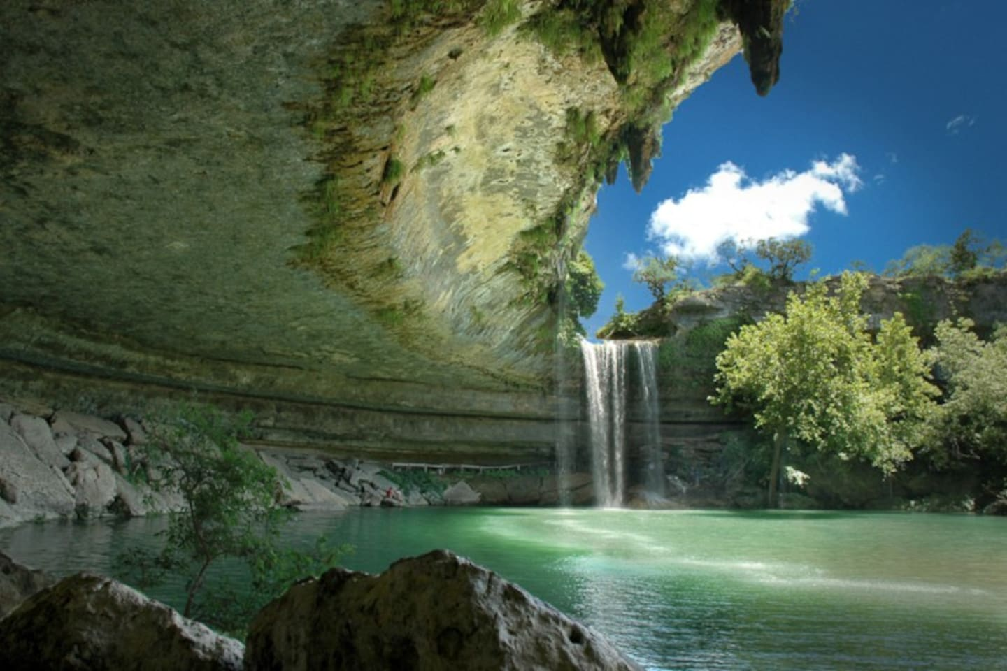 Beautiful Hamilton Pool Preserve just down the road!