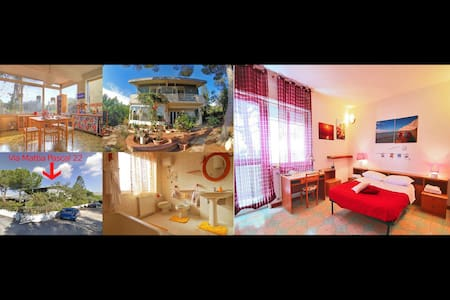 RedRoom - Temples/Garden/kitchen/Wifi/Transports - Agrigento - Villa