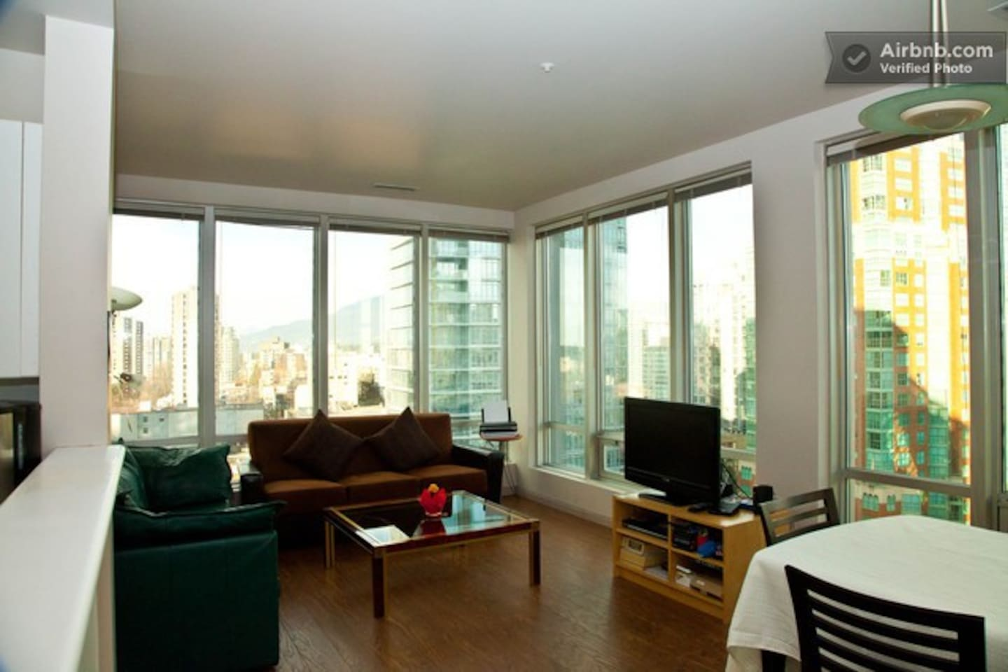 Living Room -- Corner Unit -- Incredible views North and West
