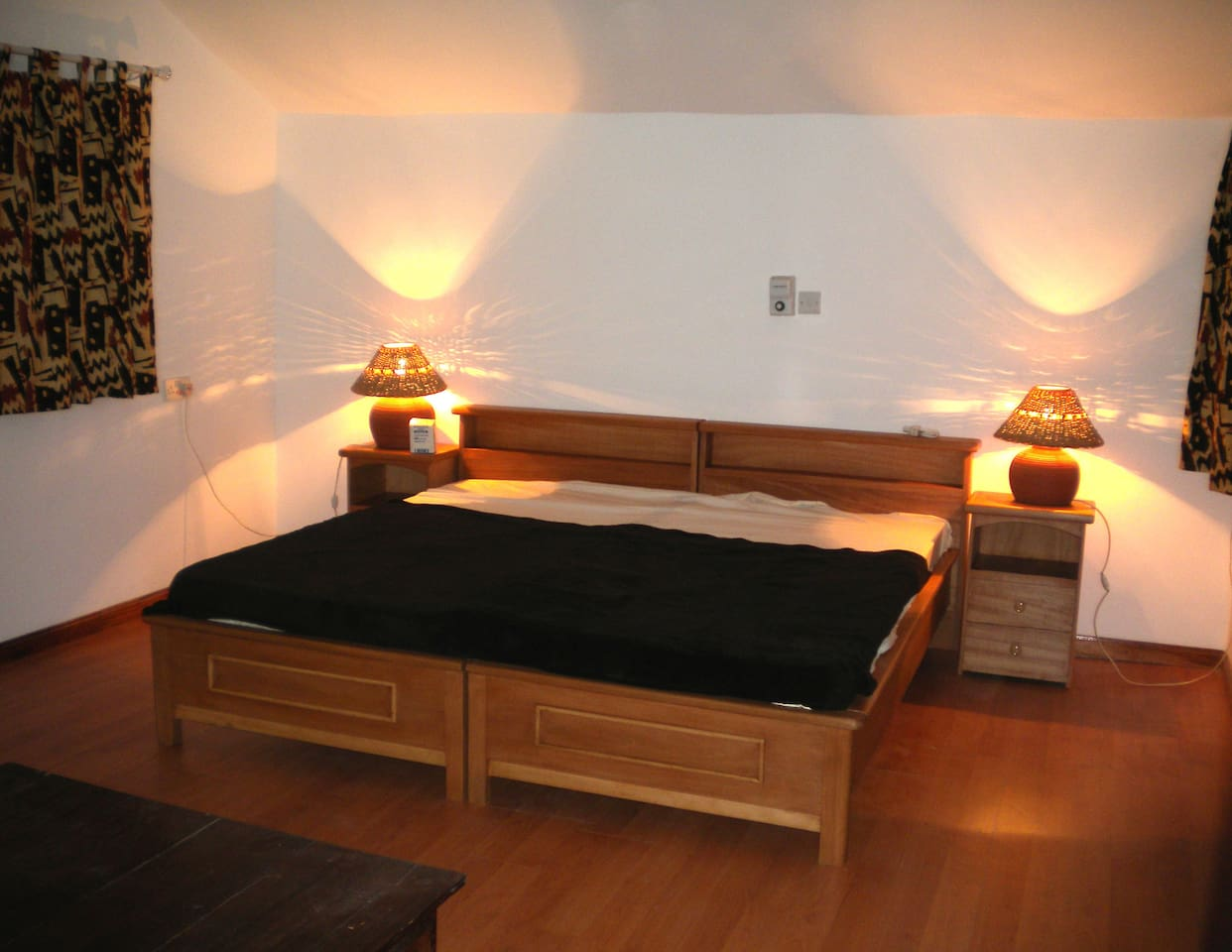 All room double or twin beds