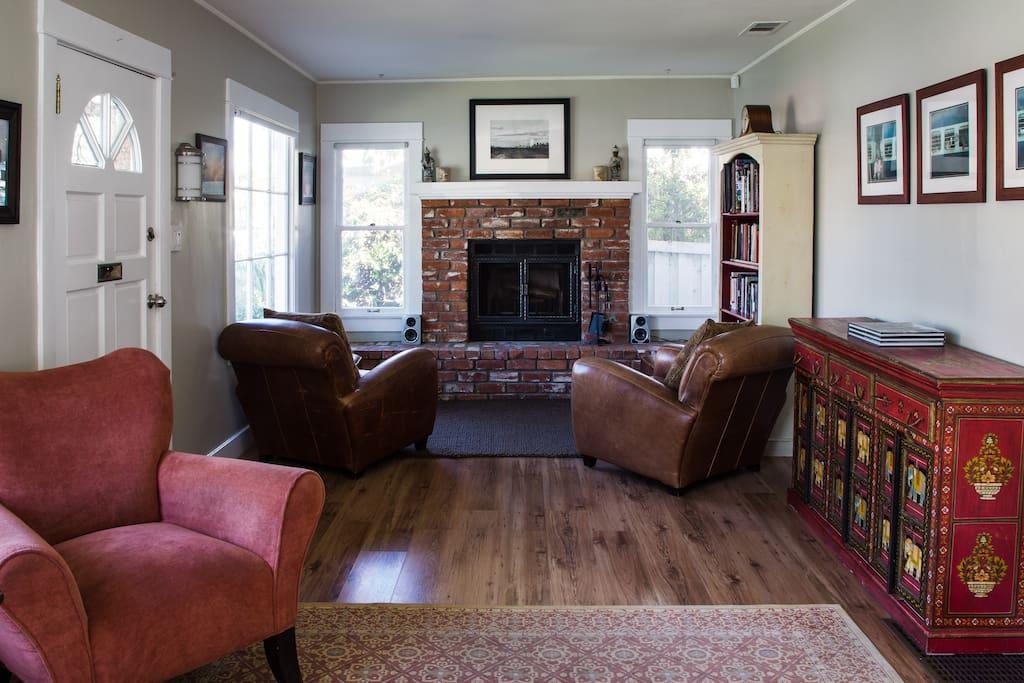 Classic Santa Monica Craftsman Cottage.