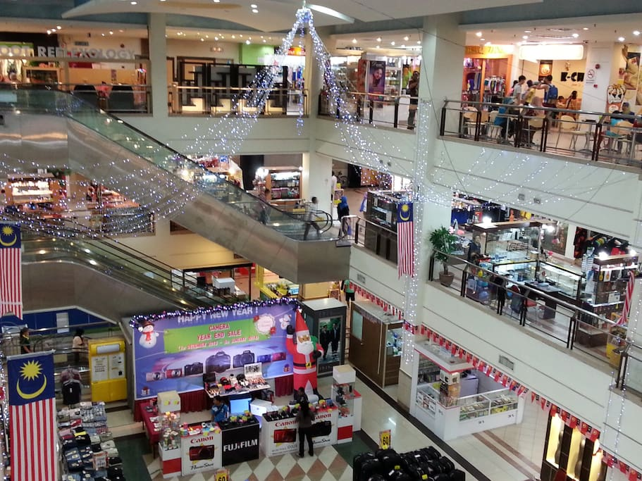 We are just a minute walk from Langkawi Parade MegaMall, Teow Soon Huat Department Store and Supermarket