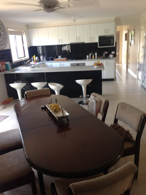Meals Kitchen the hub of the House guests can share
