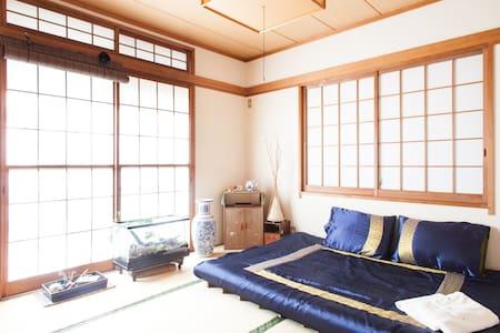 Tatami Room in House Shinjuku Area