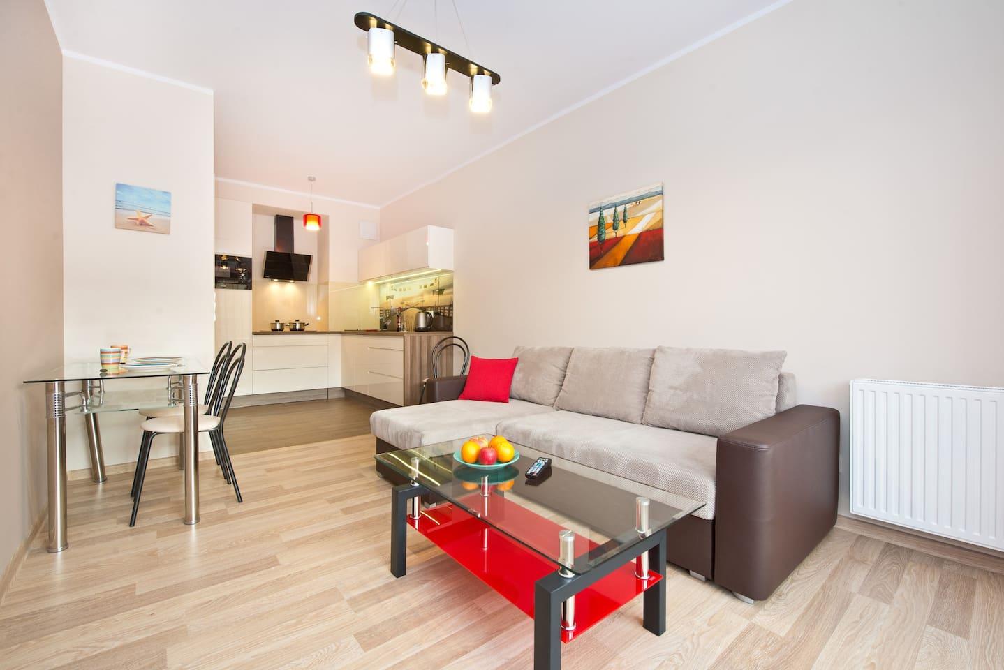 Comfortable Apartment in Sopot