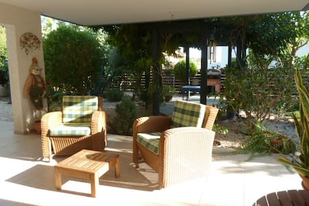 Relax on the hills around Limassol near the town - Huis