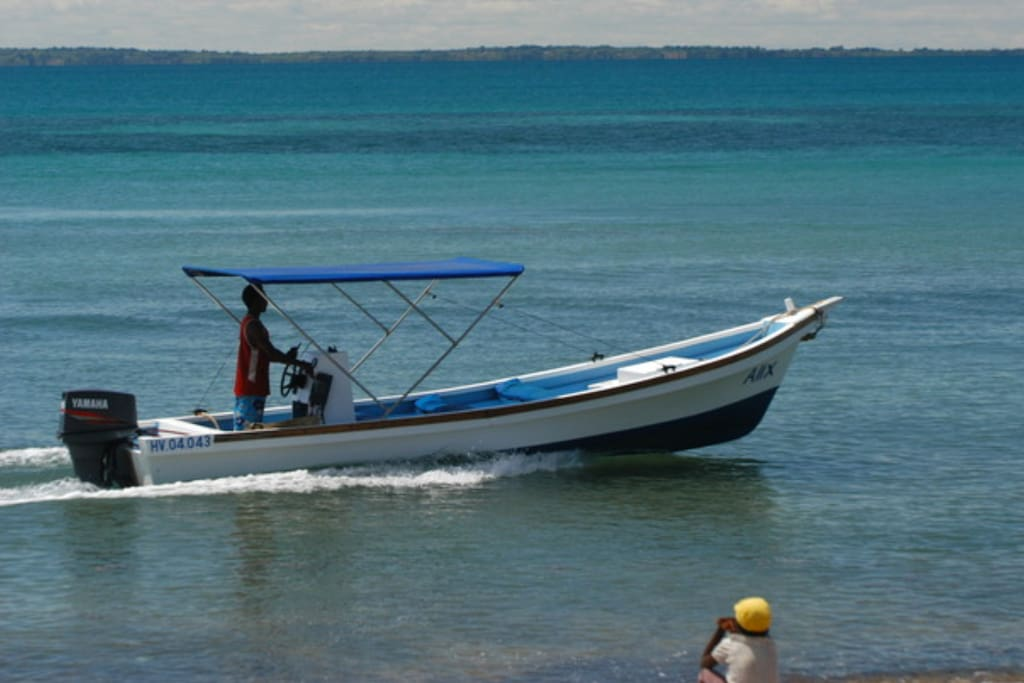 Bungalows de Doany Beach & bateau!!