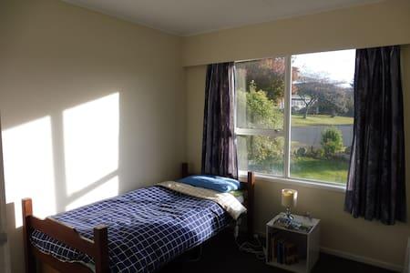 Comfortable & peaceful home: single - Rotorua - House