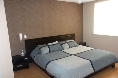 Apt,furnished, 2 bedrooms, parking. - Cuenca Canton