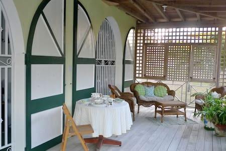 Beautiful Caribbean isle of Nevis -  Gingerland - Bed & Breakfast