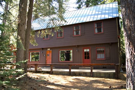 This 1940's Tahoe cabin has vintage charm and boasts one of the most sought-after locations on the lake.  Short of lake front, which this cabin is not, this is as good as it gets.  Includes access to homeowners' beach, a block down the street.