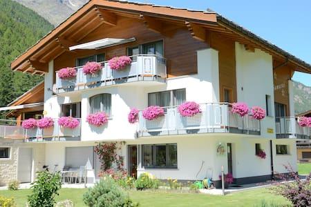 4 1/2 Zi. Ferienwohnung ideal für Familien - Saas-Grund - Wohnung
