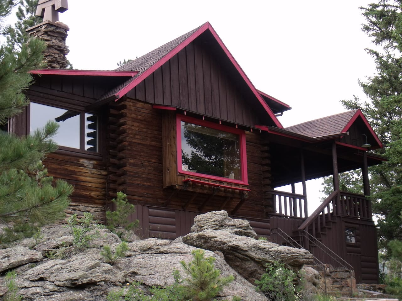 Brown Cabin- built in 1930, updated for comfort and use