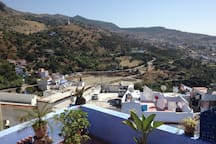 Picture of Panoramic view on Chefchaouen