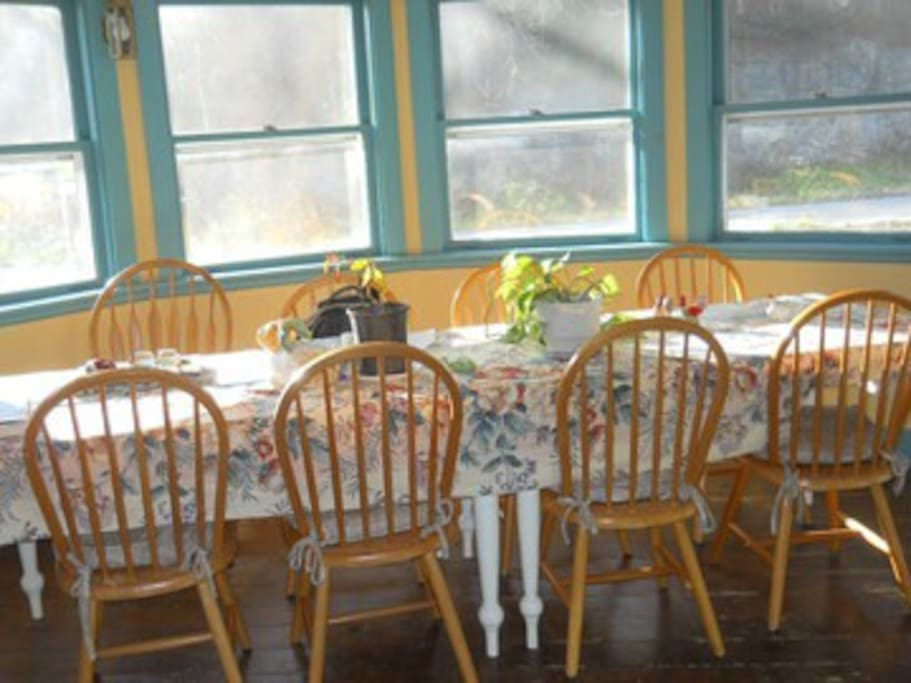 Enjoy our friendly dining room.
