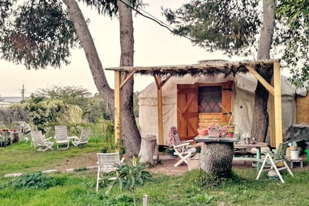 Private rural couple\single yurt - Jurta