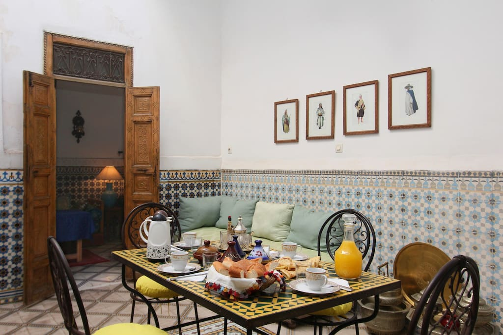 Riad Salam, whole house for you