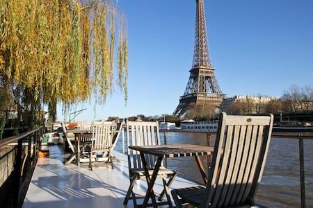 Charming Eiffel Tower Houseboat - Paris - Boat