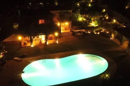 unique villa with private beach - Ermioni