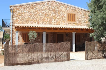 Indipendent cottage 4 pool Es Trenc area - Campos
