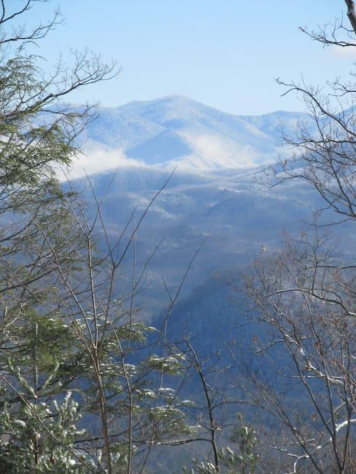 Beautiful panoramic views surround you at Smoky Mountain High!