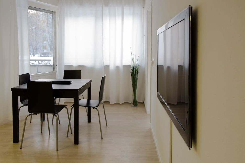 Modern 50 Inch Flat-TV