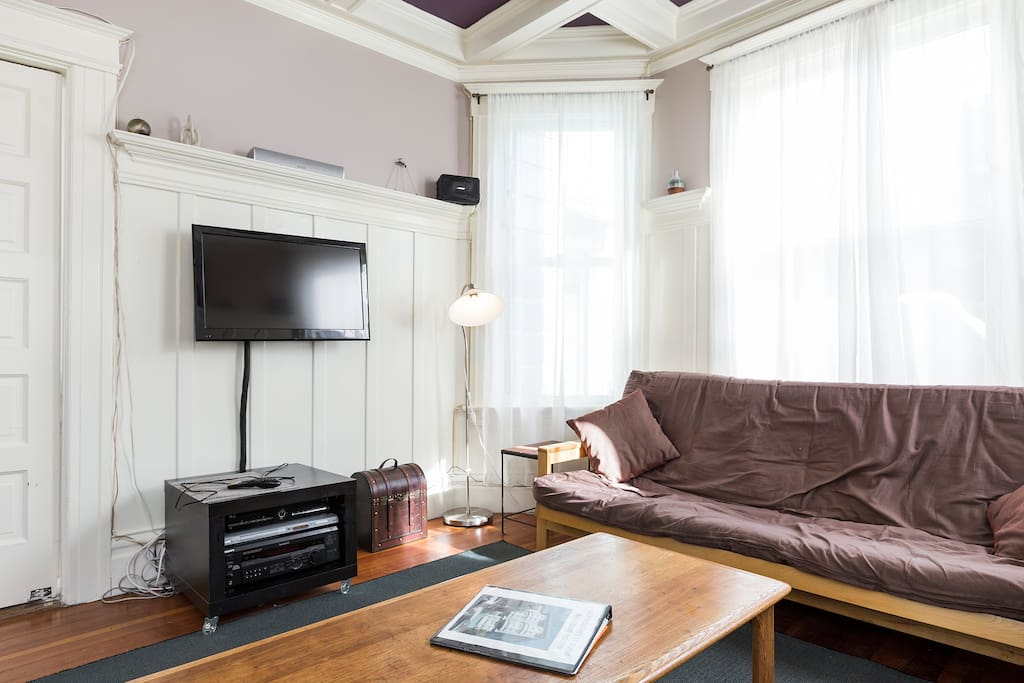 Very comfortable Sitting Room with latest TV, Audio & WiFi