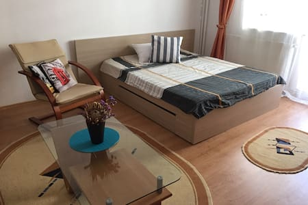 Central, Lovely & Spacious Studio in Cluj Napoca - Cluj-Napoca - Pis