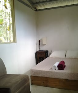 Lovely Double room with fan - Uvita - House