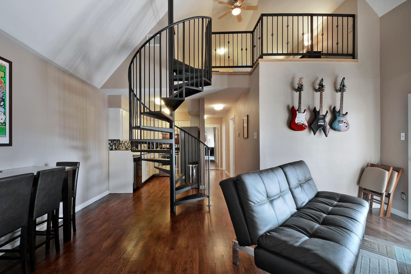 We have a wonderful condo with a luxurious loft.