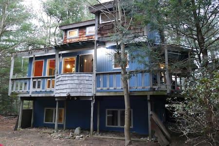 1 Floor of Cabin in the Woods - Ballston Spa - Casa