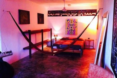 Big and cool room in Tulum centre