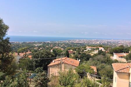 Bilocale terrazza vista panoramica sul mare - Wohnung
