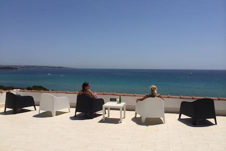 TOP FLAT IN SEA FRONT VILLA - Arenella - Villa