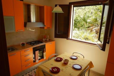 home  Natura Mare tra S.Vito Scopello Trapani - Custonaci - Haus
