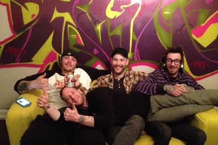 Creative Cool Priv Apt in Music Studio! - Baltimore - Lakás