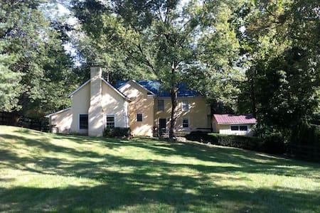 Charming VA wine country farmhouse - Delaplane