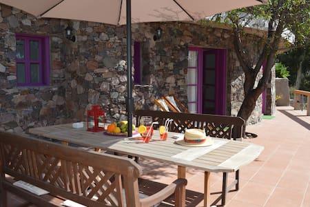 Casa rural estética y acogedora - Casa