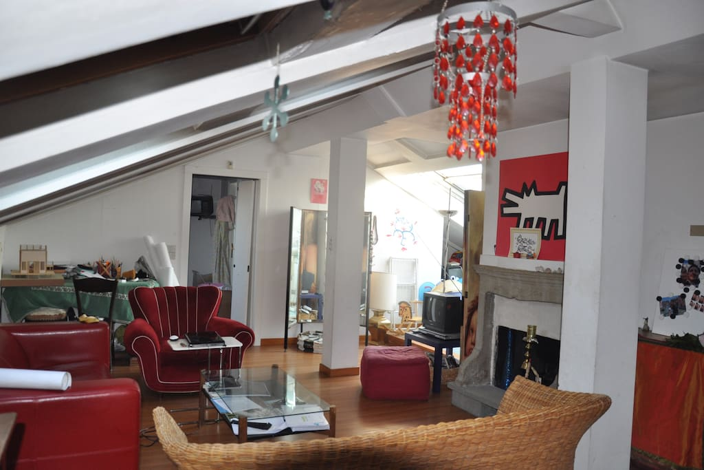AtticCozy-65mq-With Rooftop Terrace