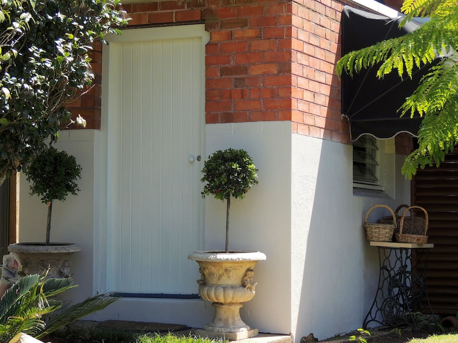 Your own private entrance to your little Hideaway Nest