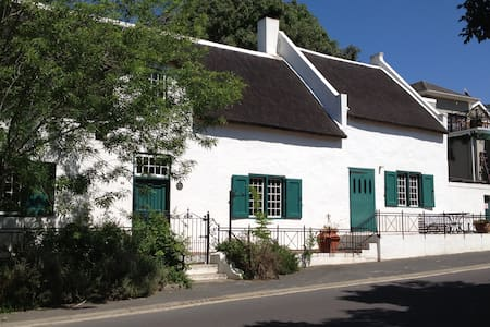 Double room with A/C in historic home, Paarl - Paarl - House