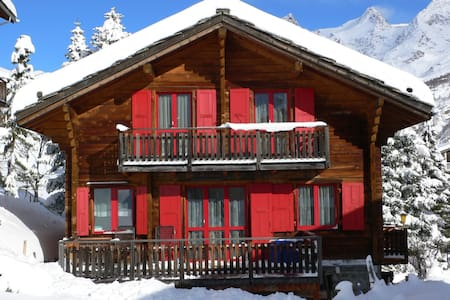 """Charming """"Walliser Chalet"""" 9 pers"""