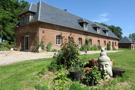 Bergerie dans clos masure - Thérouldeville - Dům v zemi