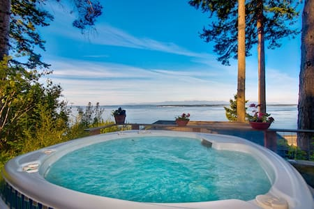 Whidbey Beachfront Luxury Compound - House