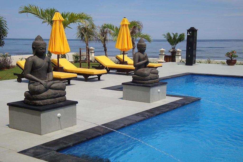 Villa Pelangi, luxury beach villa