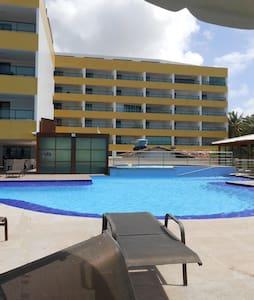 Flat no Tabatinga Residence - Conde - Apartamento