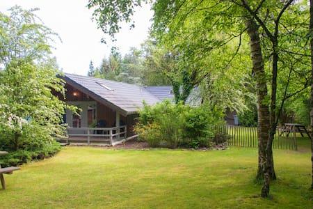 Chalet met grote tuin nabij Durbuy en Barvaux (4p) - Ház